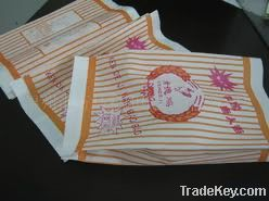 Customized health and safety burger bags