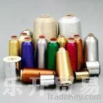 MEI-KWAN brand metallic yarn and colorful silk