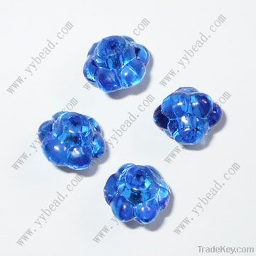 Flower clear crystal acrylic beads for parties and holiday
