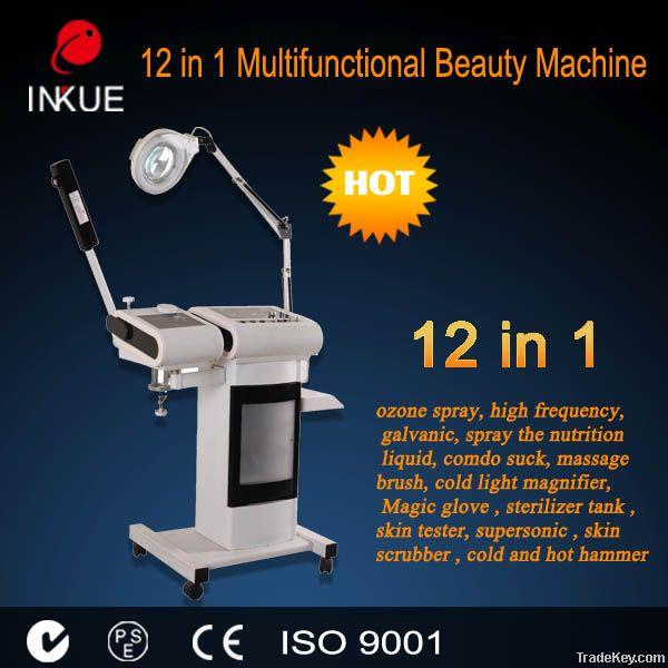 CE 12 in 1 hot sale multifunctional beauty equipment