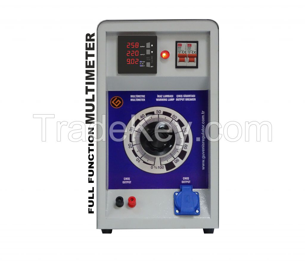 Single Phase Variac Tester 3KVA
