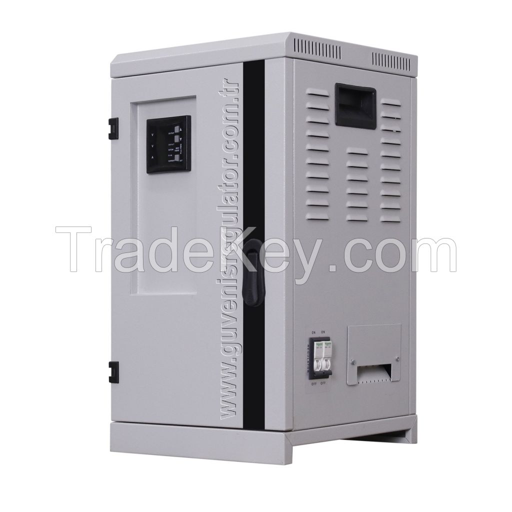 Monophase 15KVA Servo Voltage Stabilizer