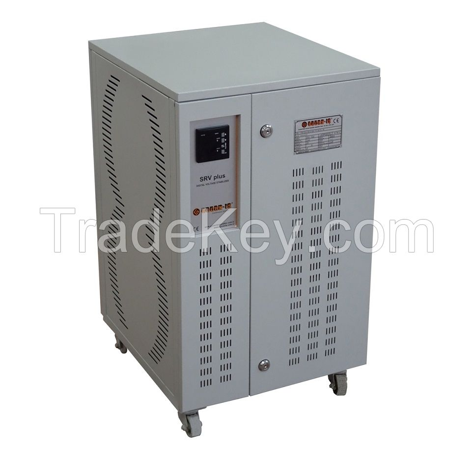 Monophase 25KVA Servo Voltage Stabilizer