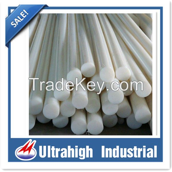 Engineering Plastic Rod Large diameter Ultahigh Molecular Weight Polyethylene Bar Plastic-bar