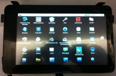 10th Anniversary Promotions Touch Screen Tablet PC