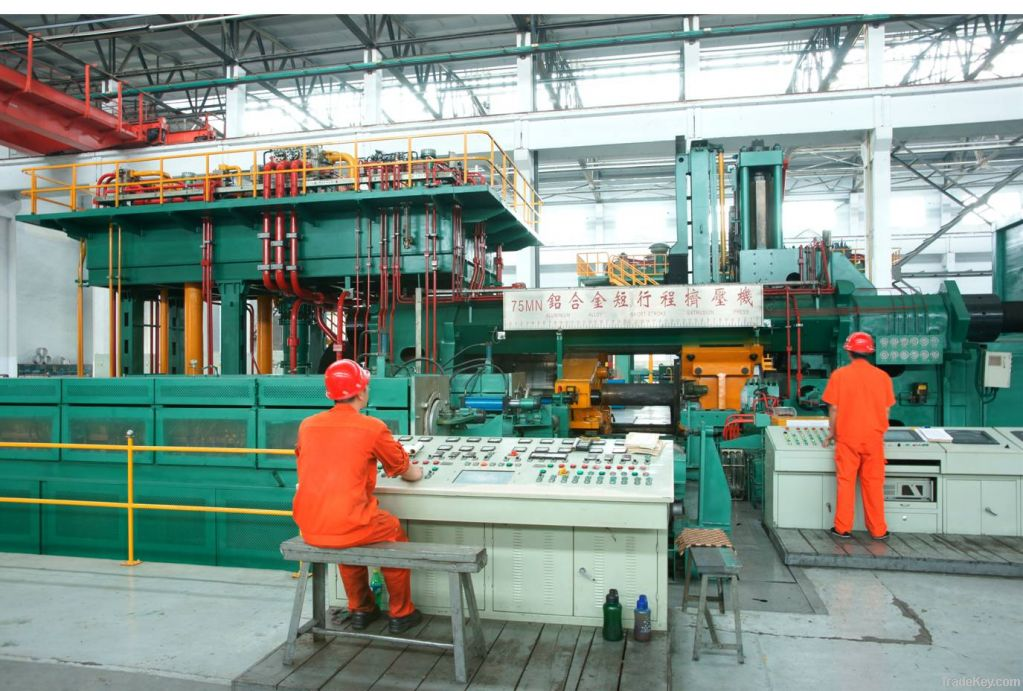 Hydraulic press Extrusion press Forging press