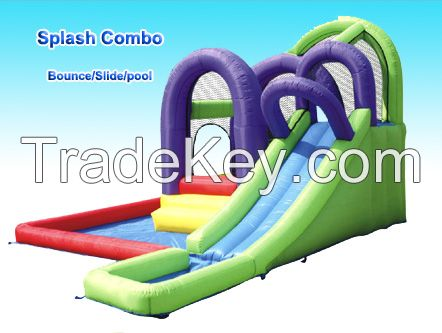 2014 High quality  Inflatable Slide