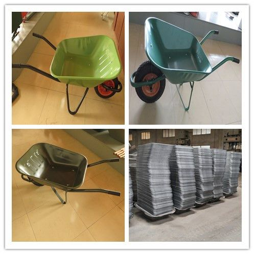 Hot sale WB6400 wheel barrow selling well in Africa market