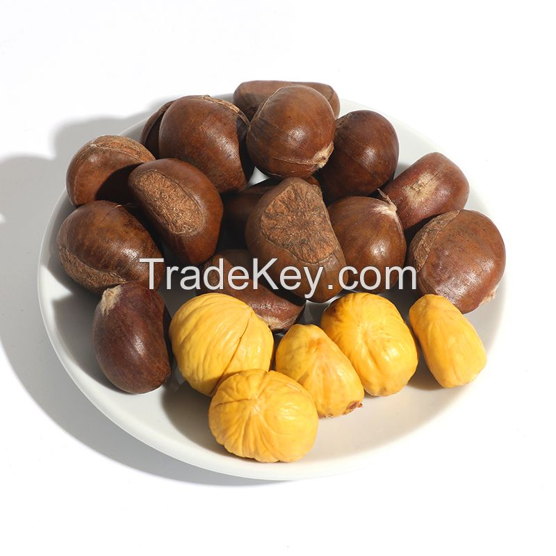 Chestnut, Roasted and Salted Chestnut, Chestnut Kernels, Organic Chestnut, Chestnut sliced, Raw Chestnut