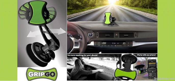 The GripGo Universal Car Phone Mount