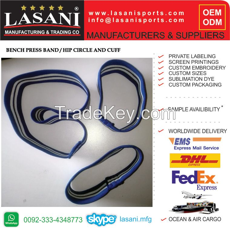 Bench Press sling shot , Compression Cuff, Hip Circle