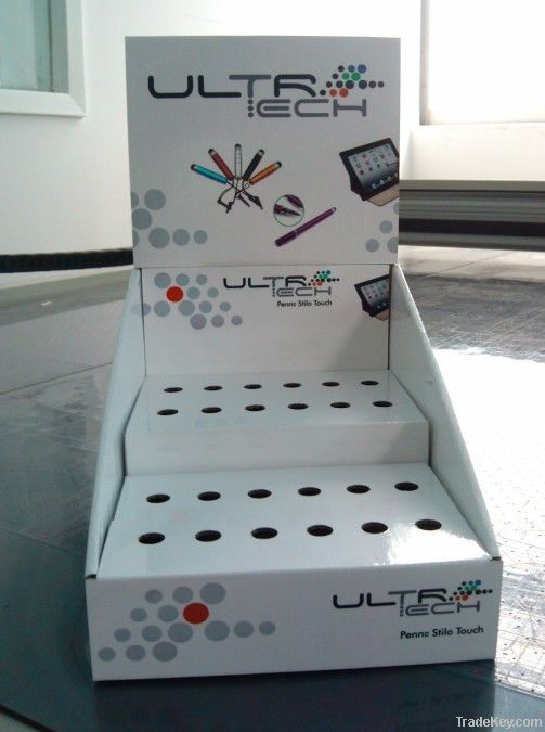 Customized pop countertop cardboard display