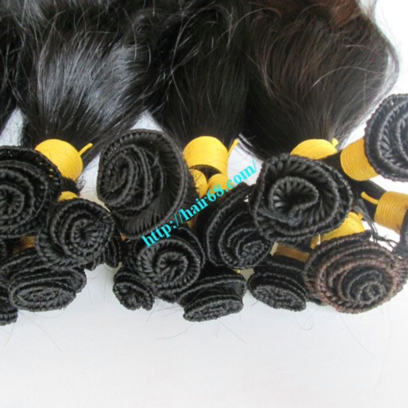 100% Remy Human Hair Hand Tied Weft Best Quality