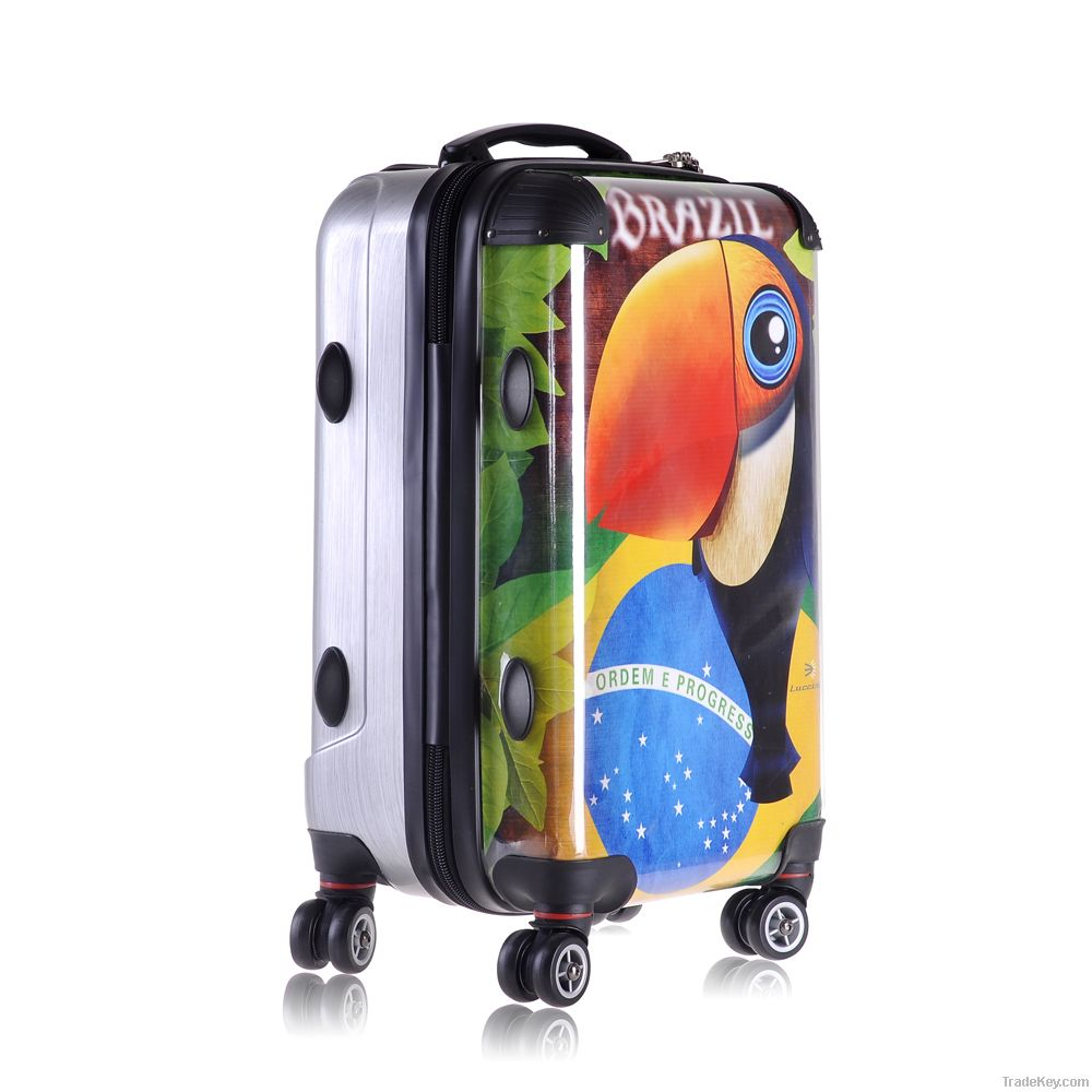 lucciola ( 100%PC) transparent Luggage Set  DIY Individual with Style