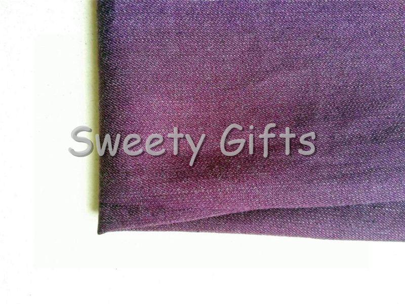 Anti Singal Protective Phone Pouch Bag Case Metallic Cotton Fabric