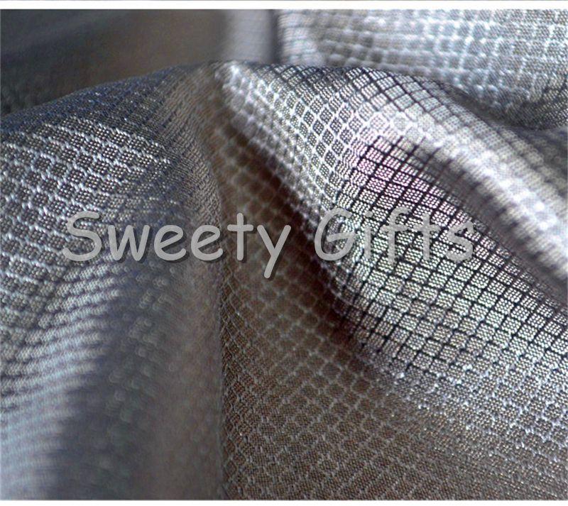 Metallic Conductive Clothes Astronaut Apparel Fabric Silver Fabric Anti radiation