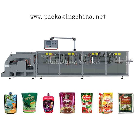 WHD-180S Horizontal FFS Packing Machine for Doypack
