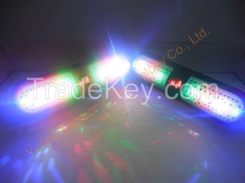 offer 2015 new bluetooth speaker, gift speaker, led flash light speaker from Yufine factory