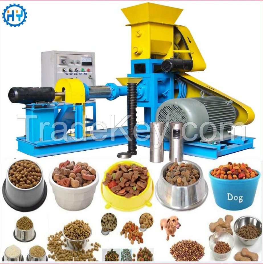 Factory offer Floating fish pet feed pellet machine