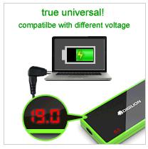 Auto 90W universal notebook adapter S100