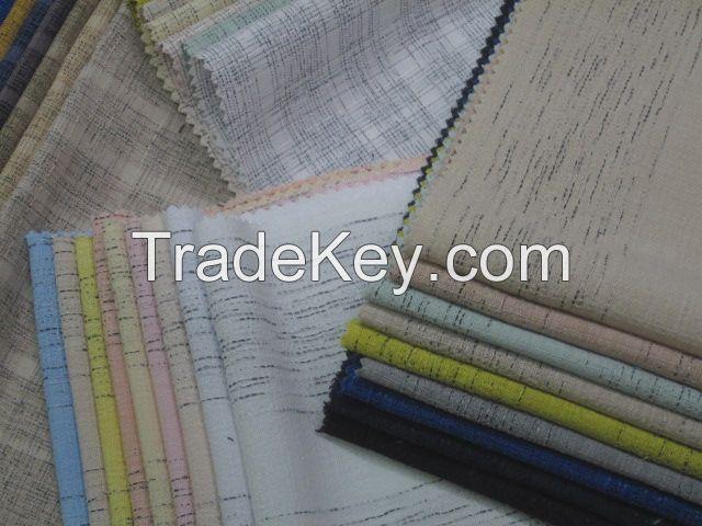 Melange Stripe fashion fabrics