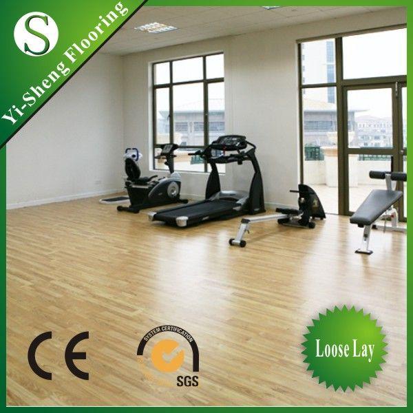 2013 hot sale glueless eco-friendly pvc sports flooring