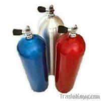 Argon, Helium And Nitrogen Gas