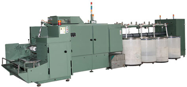 Gilling Machines for Wool slivering, Re-combing