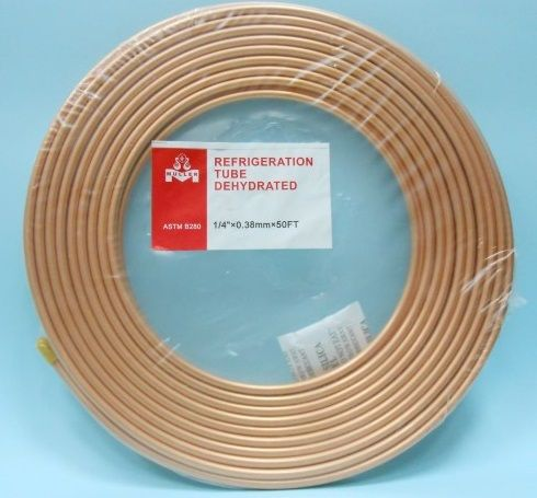 AIR CONDITIONING COPPER COIL TUBE/REFRIGERATE COPPPER PIPE