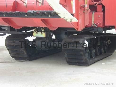 rubber track for harvester and excavator