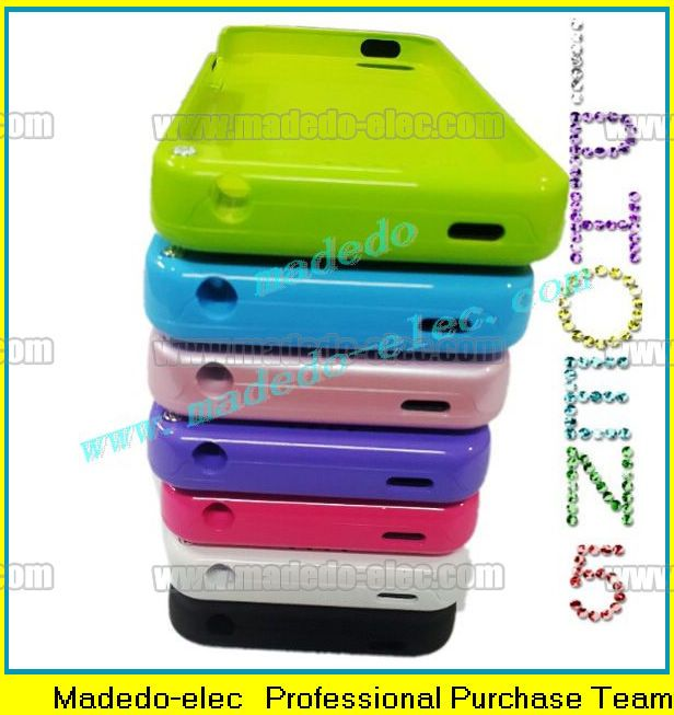 2200mah Protective External Rechargeable Battery Case for iphone 5 Charging Cover With Stand Holder
