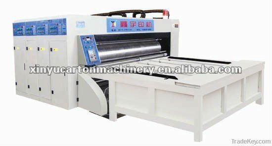 XY-C1 multicolor printing die-cutting with slotting combined machine