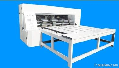 automatic high speed rotary die-cutting and slotting machine