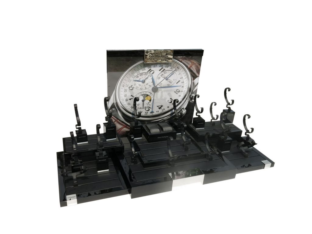 High-end watch stand display for fair