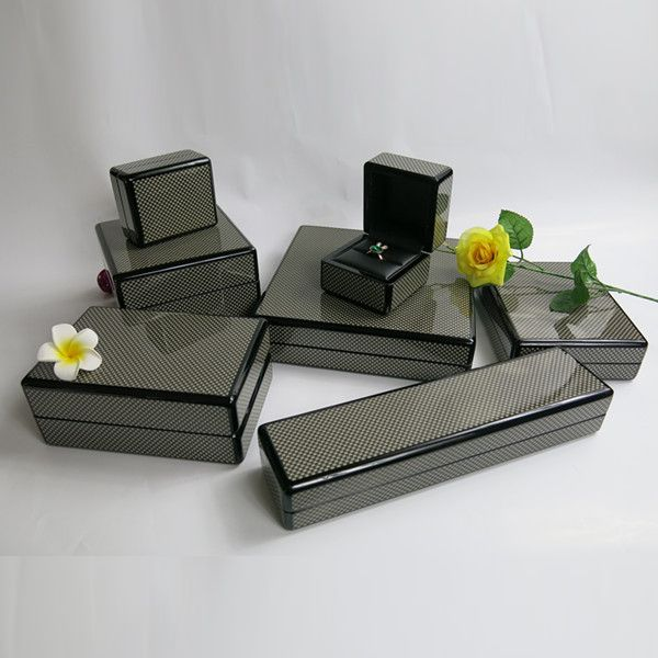 Elegant jewelry wooden box for retail wholesale