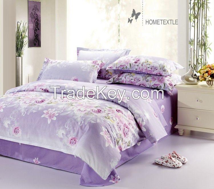 100% cotton sheet sets  40x40/128x68