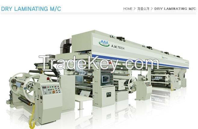 gravure printing machine , coating machine , laminating machne