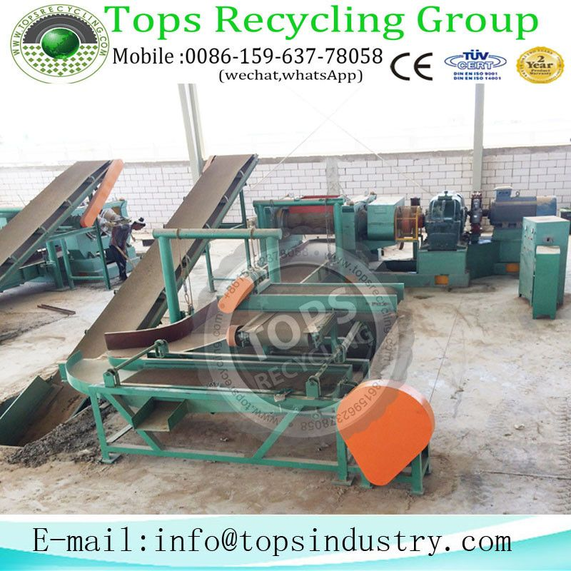 Disposed Tyre Recycling Shredder Manufacturer