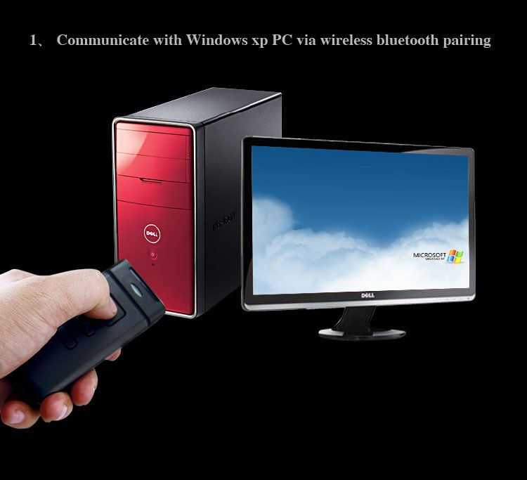 bluetooth wireless handheld barcode scanner pda data collector