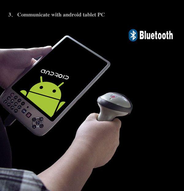 1D Laser wireless Bluetooth barcode scanner reader