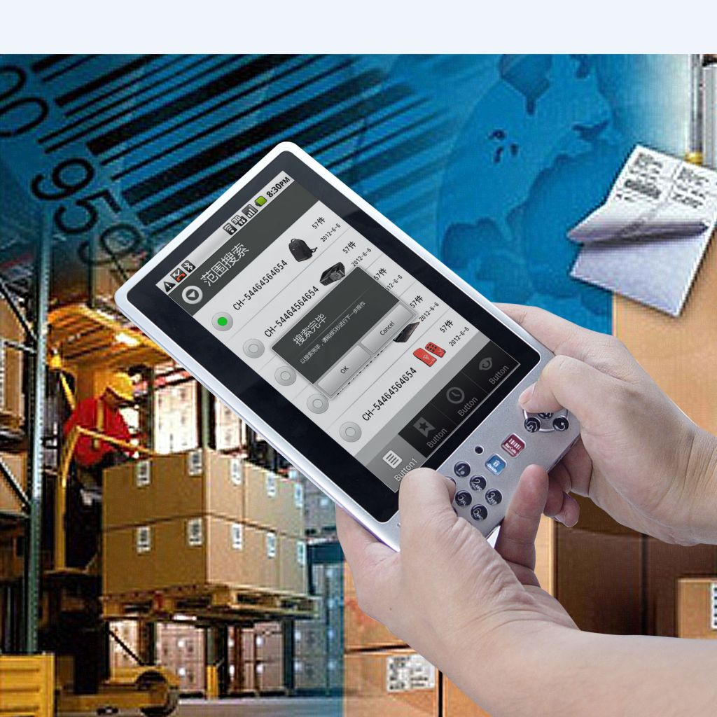 Android UHF 900M HF NFC RFID/barcode scanner/Tablet PC laptop notebook