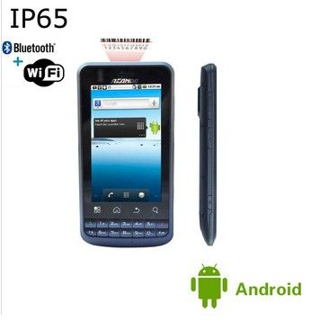 IP65 android Industrial PDA /WIFI, Bluetooth, Barcode scanner GPS, 3G smart phone