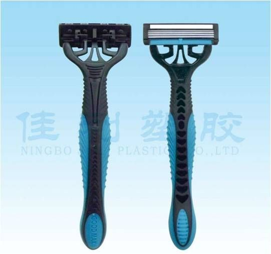 four blade razor with imported stainless steel blade