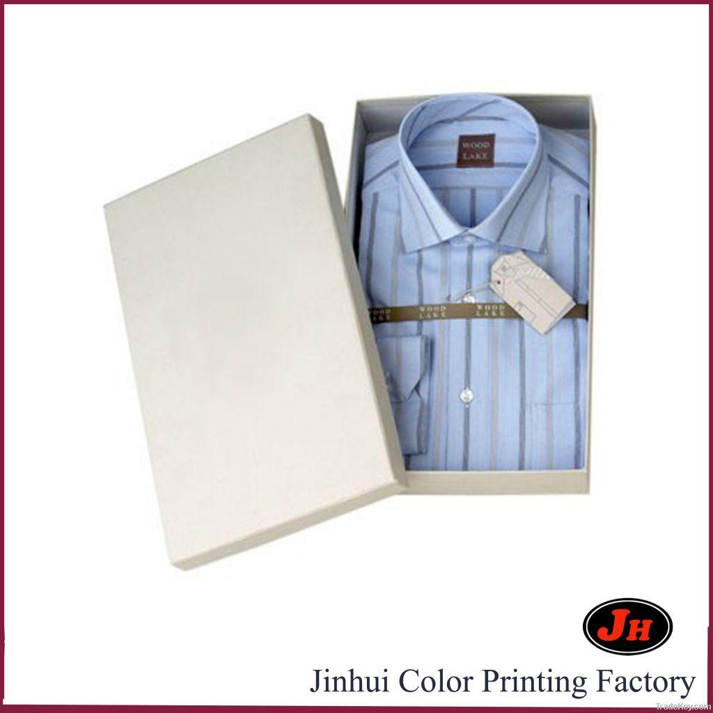 High-end rigid paper shirt box