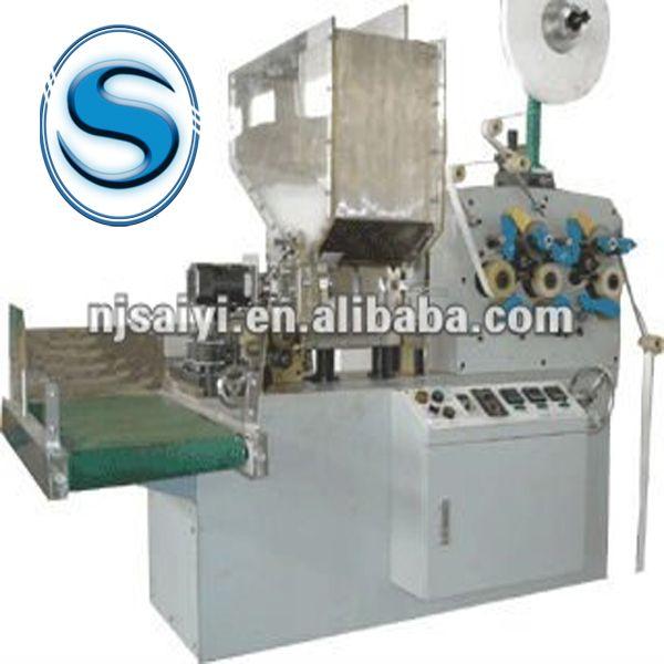 SB41 Automatic single drinking straw wrapping machine