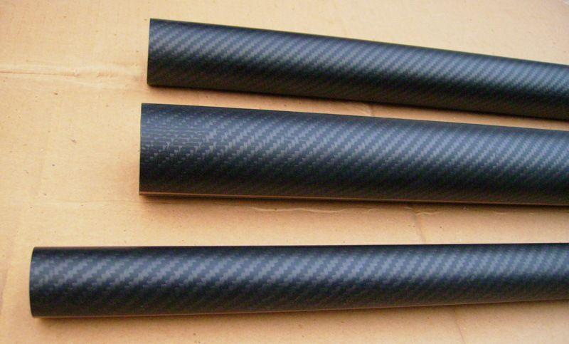 Center less ground carbon fiber TUBE