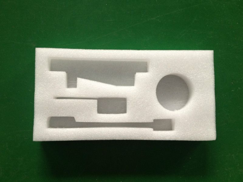 Eco-friendly EPE foam die cutting /Shock-proof edge protection for construction on shipping