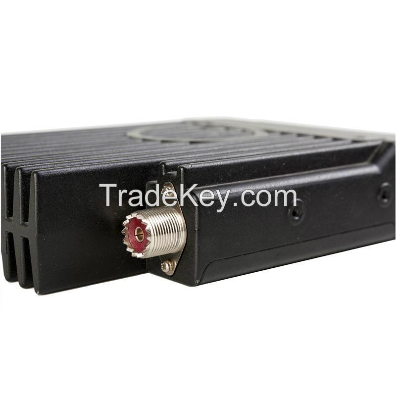 400-490Mhz 45W/25W/10W Mobile uhf cb radio with Emergency Alarm TM-8600 with DTMF microphone ham mobile radio