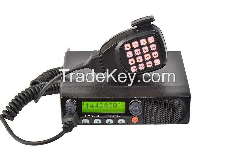 50W Newest VHF/UHF Ham Mobile Radio TC-171 FM transceiver for car