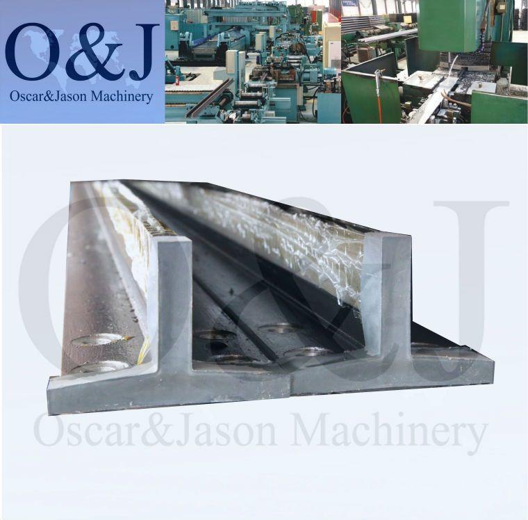 Machined Elevator Guide Rail T125, T125/A